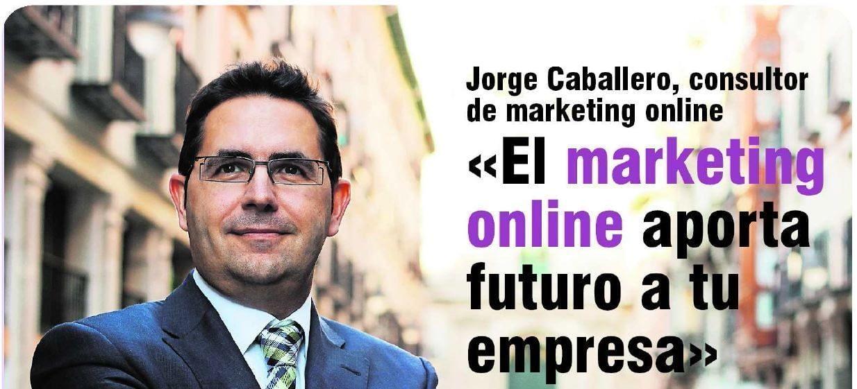 Entrevista a Jorge Caballero en e-volucion (Norte de Castilla)